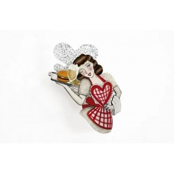 Broche Pin Up